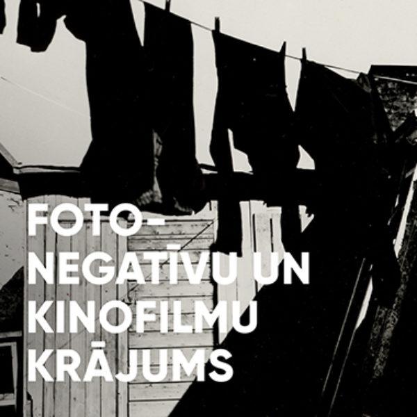 Fotonegatīvu un kinofilmu krājums