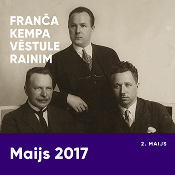 Franča Kempa vēstule Rainim
