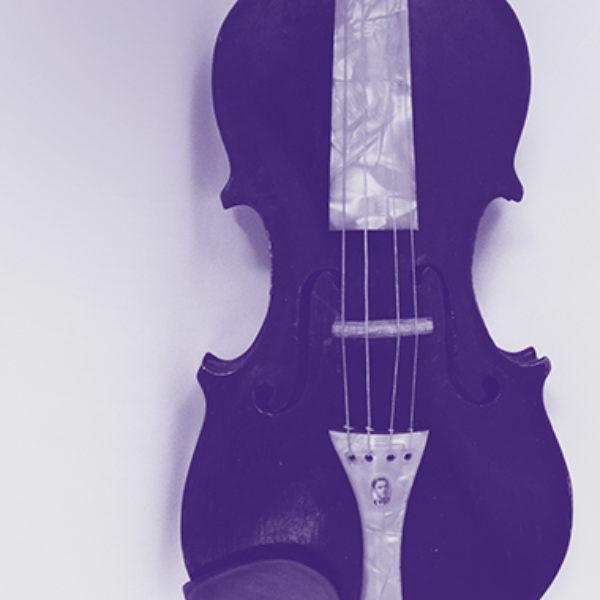 Amatiermūziķa Pētera Strazdiņa vijole