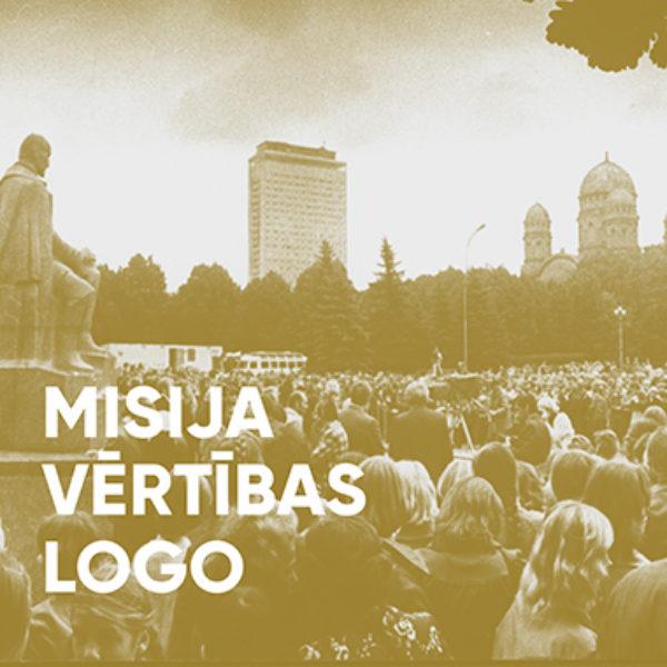 Misija, vērtības, logo