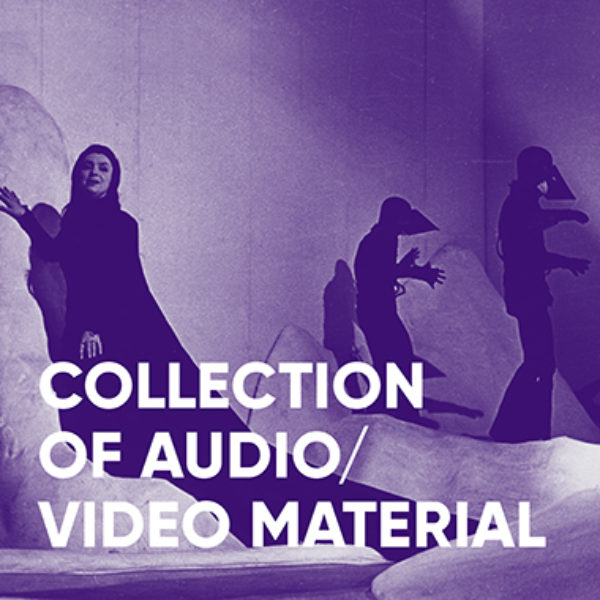 Collection of audio/ video material