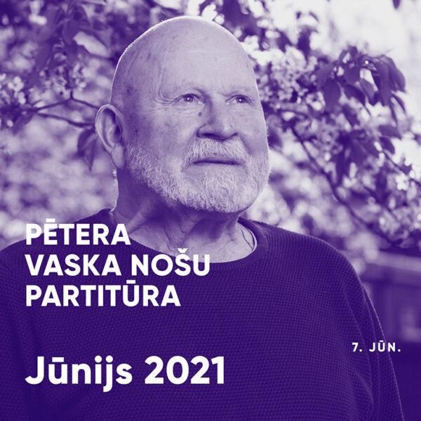 Pētera Vaska nošu partitūra